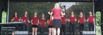 Serenade der Jugend in Albeck